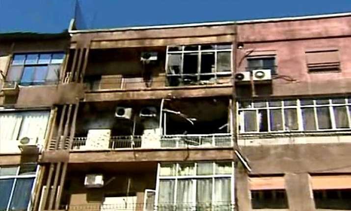 clashes rock syrian capital amid insurgency fears