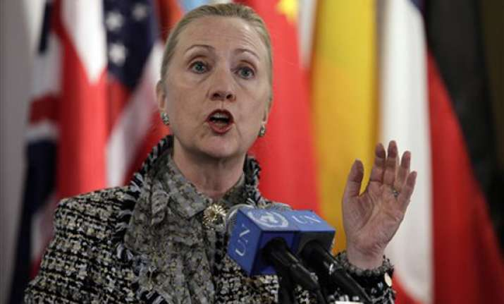 clinton saddened by killing of 16 afghans