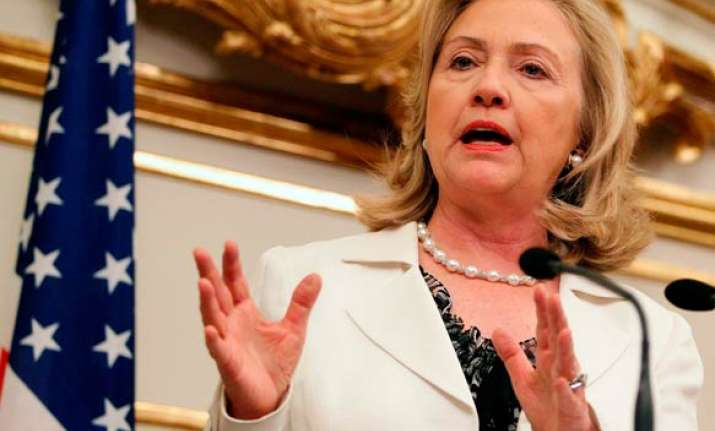 clinton to travel to new delhi and chennai