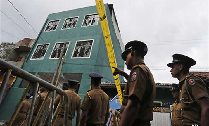 colombo tense after buddhist mob attacks mosque