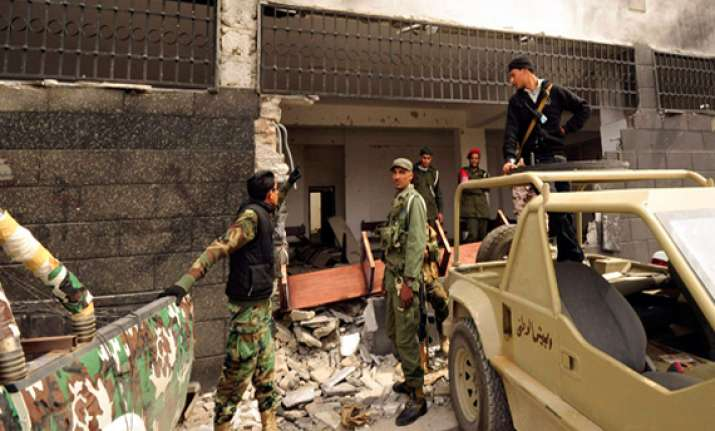courthouse bombed in libya
