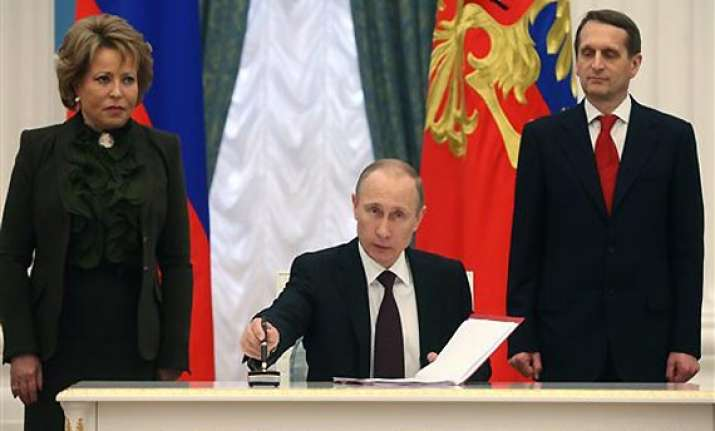 crimea goes east ukraine goes west in two new deals