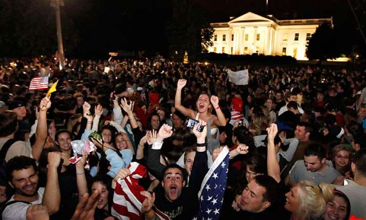 crowds react to news of osama bin laden s death