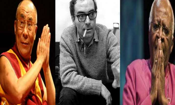 dalai lama carter desmond tutu godard among voices seeking