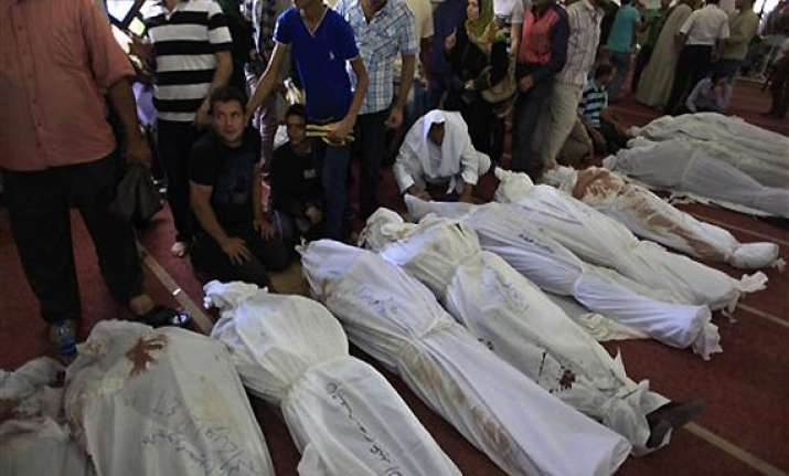 638 killed in deadliest crackdown on morsi supporters in