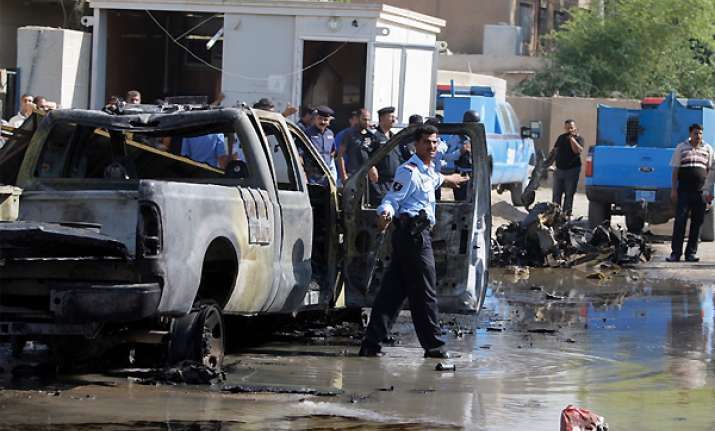 death toll in baghdad blasts jumps to 23