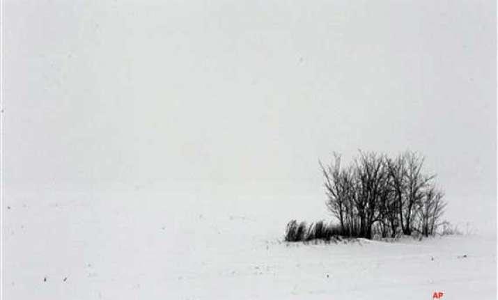 deep freeze snowstorms hit romania bulgaria