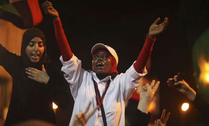 defiant gaddafi vows victory as rebels advance