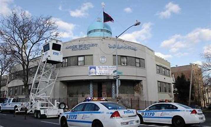denied use of bathroom man threw crude bombs at ny temple