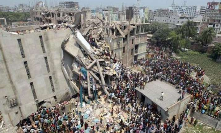 dhaka building collapse land was unfit for construction