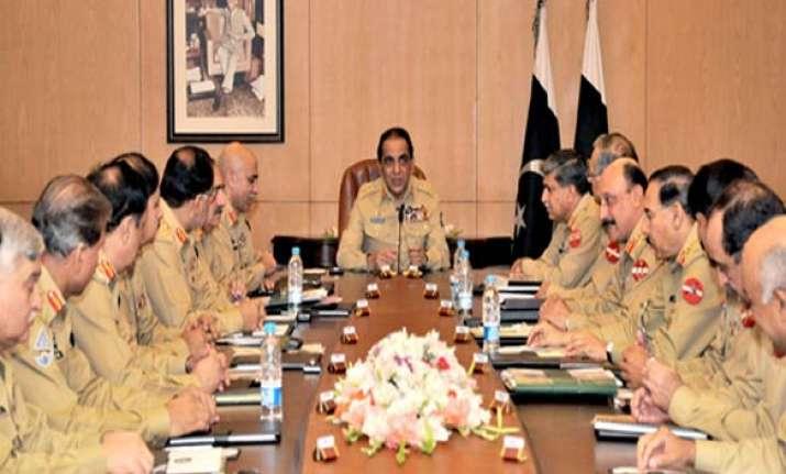 don t slander pak army gen kayani tells politicians