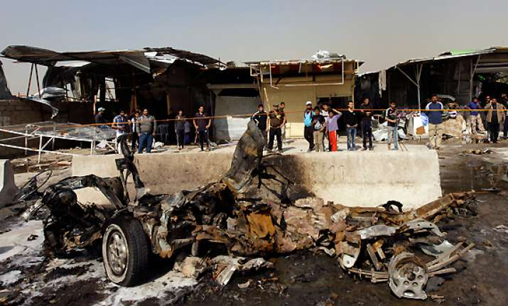 dozens killed in serial blasts in baghdad