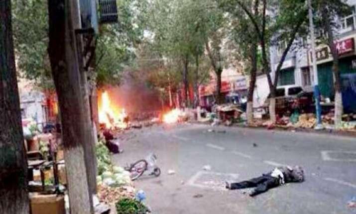 dozens killed in major terror attack in xinjiang