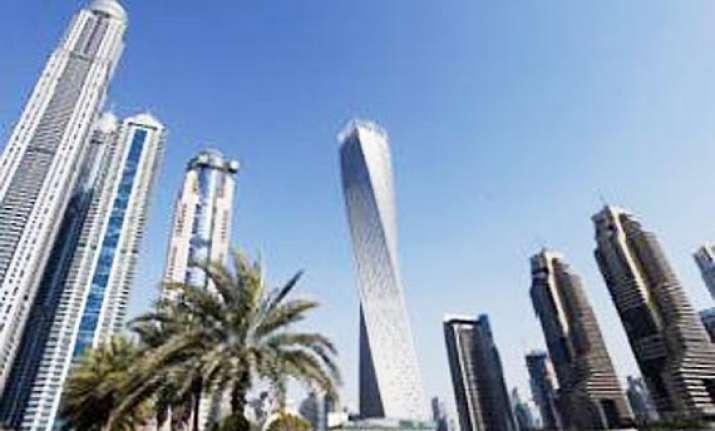 dubai inaugurates world s tallest twisted tower