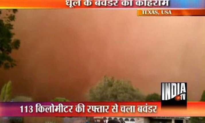 dust storm turns day into night in texas