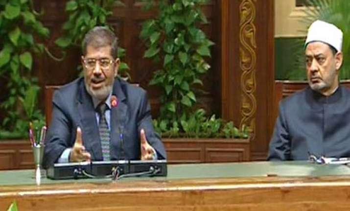 egypt president mursi annuls controversial decree