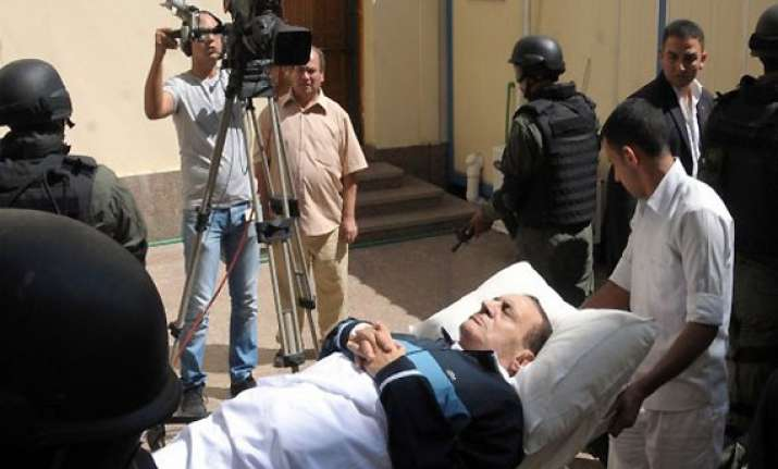 egypt court refuses to send mubarak to military hospital