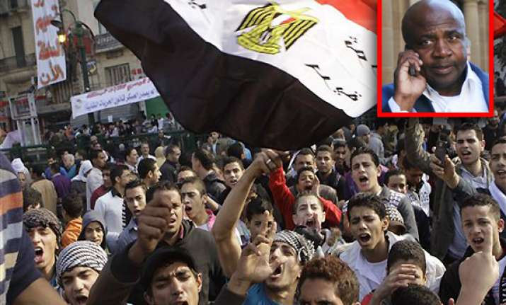 egyptian pop singer chicco supports protesters in tahrir