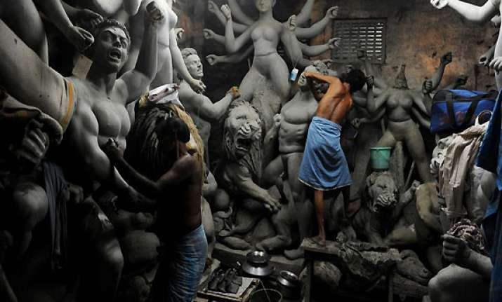 eight durga puja idols vandalized in bangladesh