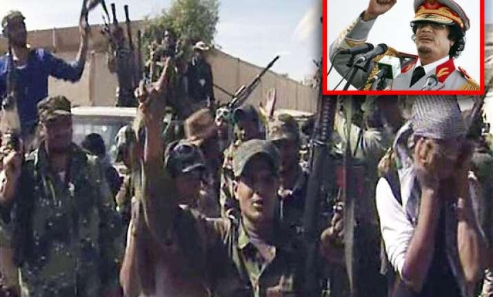 end of gaddafi s 42 year old brutal era