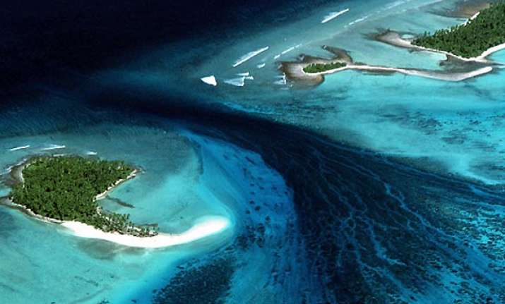 entire nation of kiribati to be relocated due to rising sea