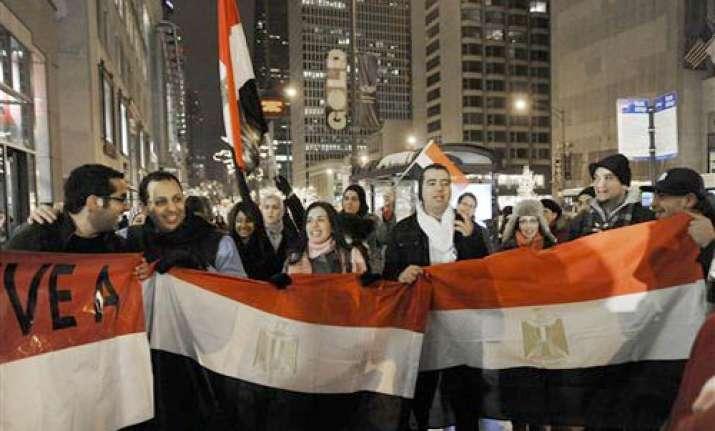 euphoria grips egpyt after mubarak s exit
