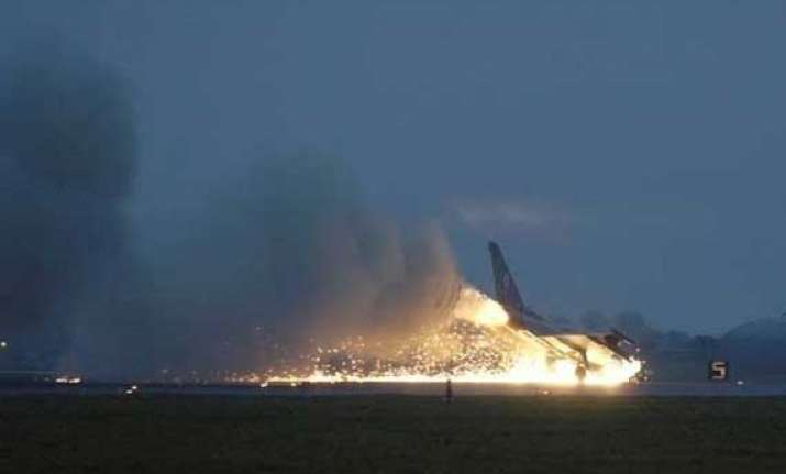 eurofighter crashes at spanish military airfield