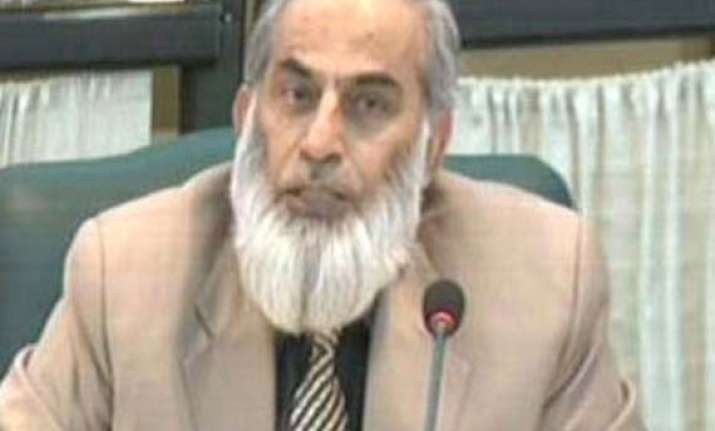 ex pak additional secretary mohammad afzal khan claims 2013