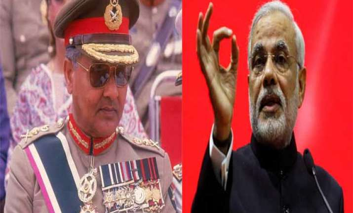 ex pakistan army chief praises modi for austere living