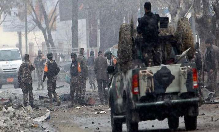 explosion hits heart of afghan capital