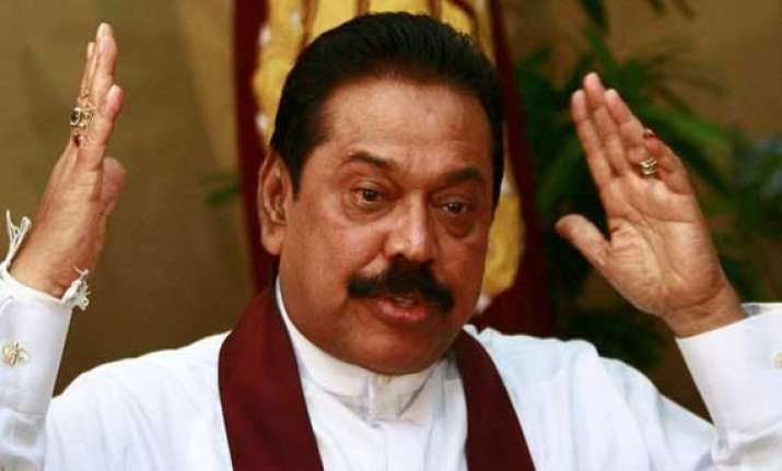 external pressure on lanka may hurt progress rajapaksa warns