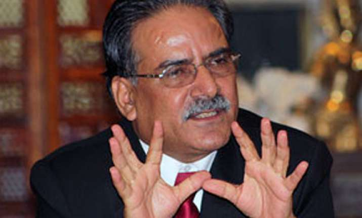 faced by party rift prachanda appeals for unity