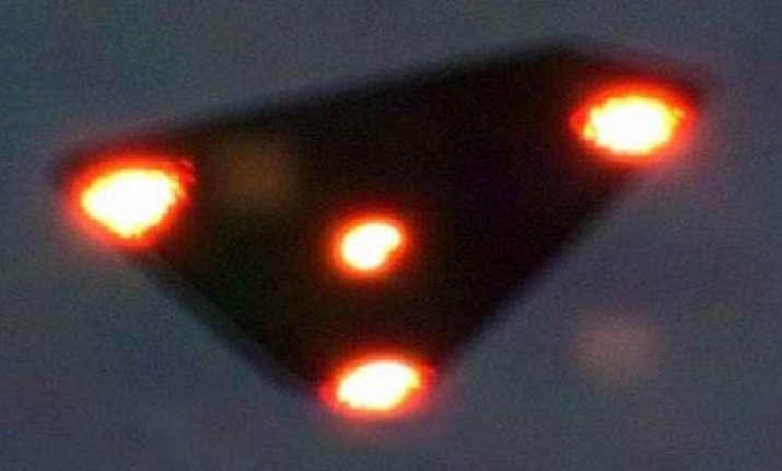fake belgian ufo was made of polystyrene