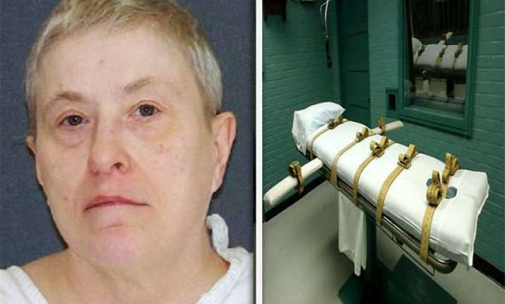 female prisoner executed in texas jail through lethal