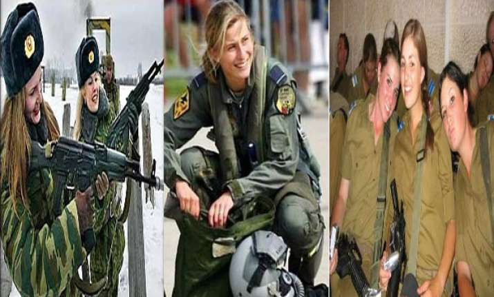 femme fatale watch in pics women soldiers from around the