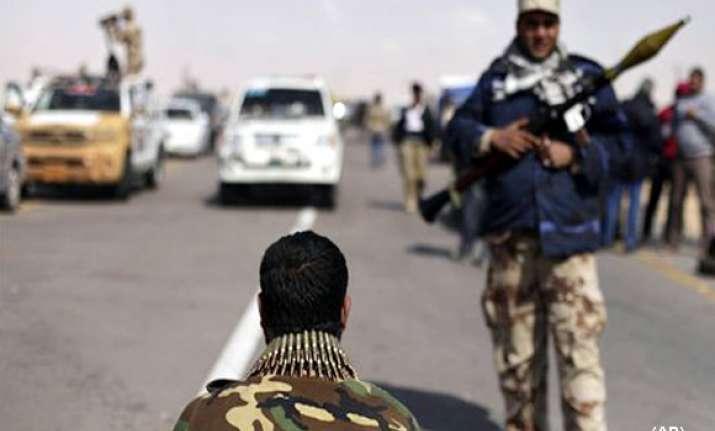 fierce fighting rages in libya gaddafi rejects ceasefire