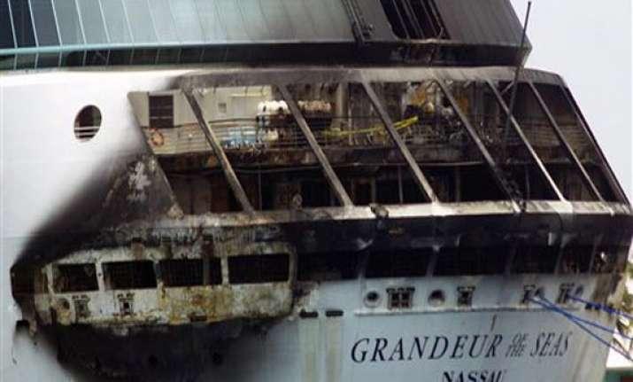 fire breaks out aboard royal caribbean cruise ship