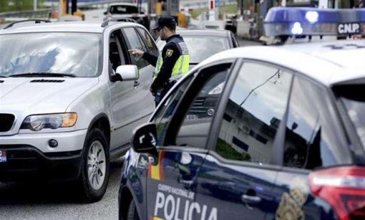 five terrorist suspects arrested in spain