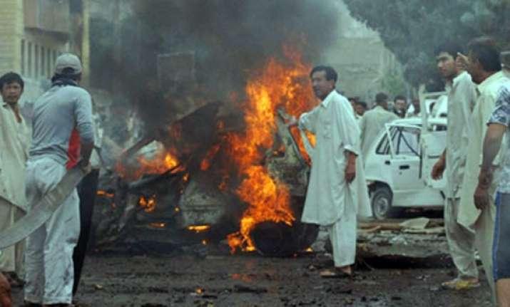 five killed in quetta in suicide car bomb blast