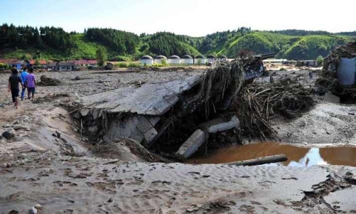 floods affect sino russia border trade