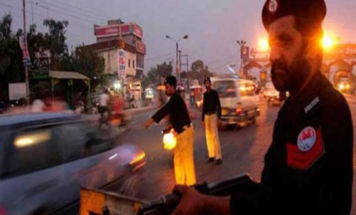 four killed in karachi clashes