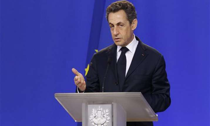 french president nicolas sarkozy holes up in bar to escape