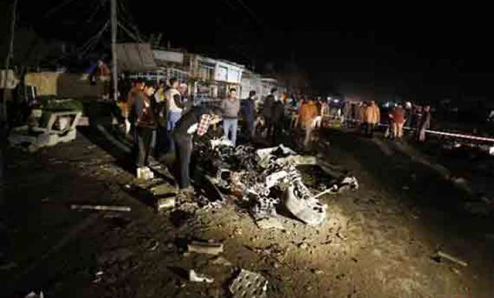 funeral bombing other attacks kill 14 in iraq