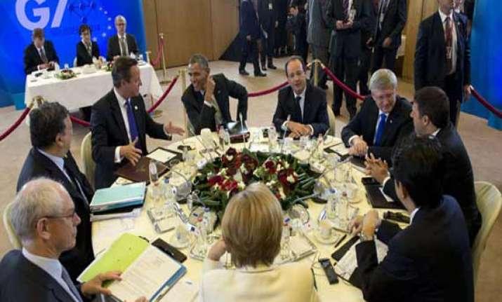 g7 warns russia of more sanctions over ukraine