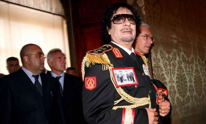 gaddafi blames al qaeda for libyan unrest
