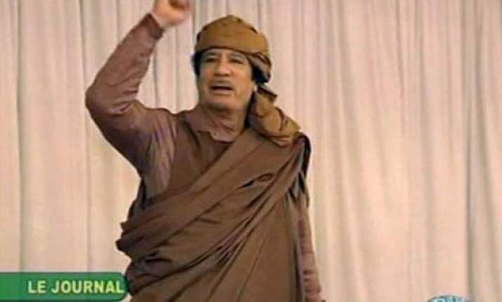 gaddafi exhorts his followers to fight
