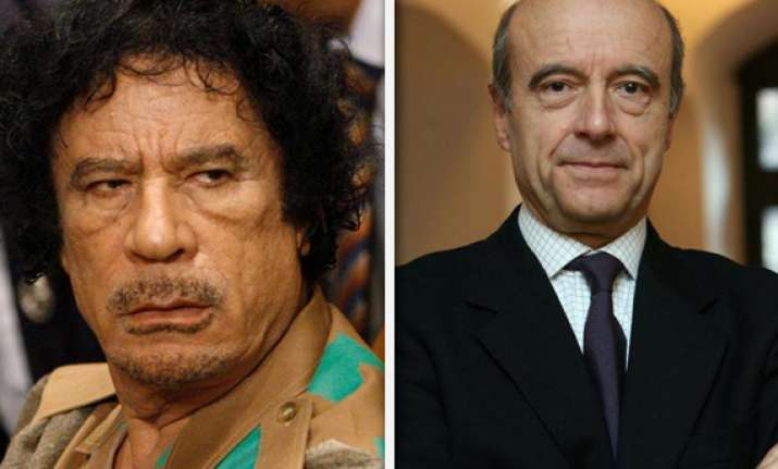 gaddafi ready to go say french fm