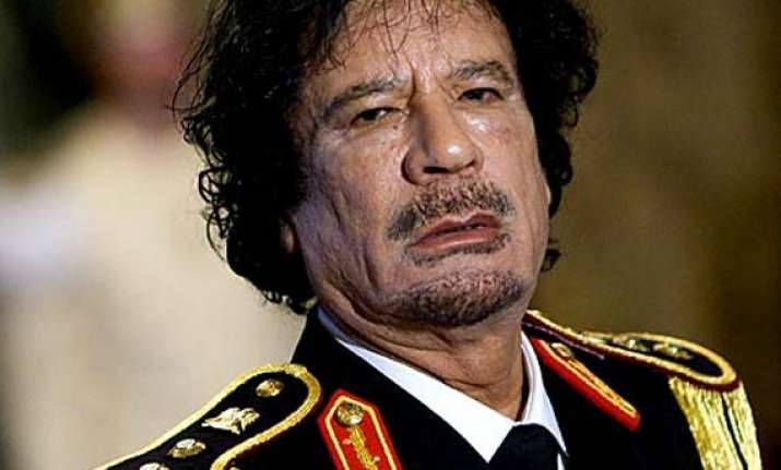 gaddafi says he quit compound in tactical withdrawal
