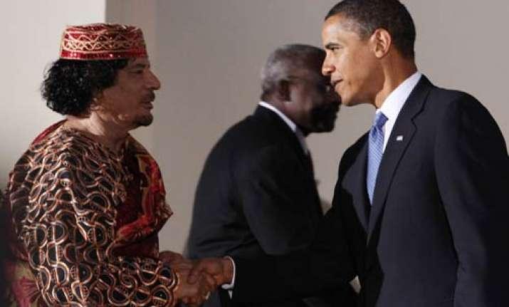 gaddafi writes letter to obama asks to end air strikes