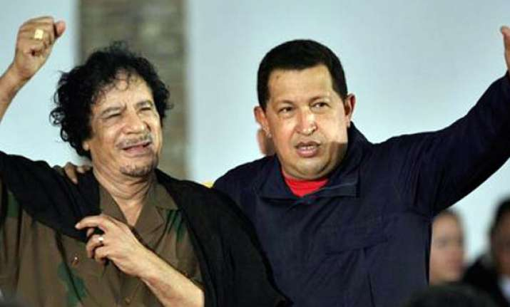 hugo chavez condemns libya airstrikes as madness